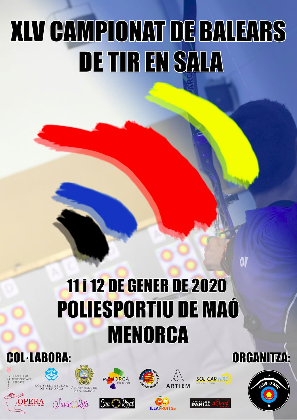 XLV CAMPIONAT DE BALEARS DE TIR EN SALA 2019-2020 @ Poliesportiu Municipal de Maó | Illes Balears | España