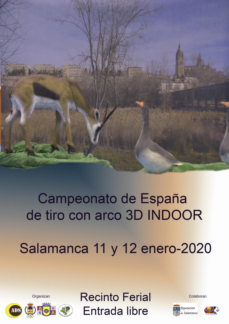 Campeonato de España 3D INDOOR 2020 @ Salamanca