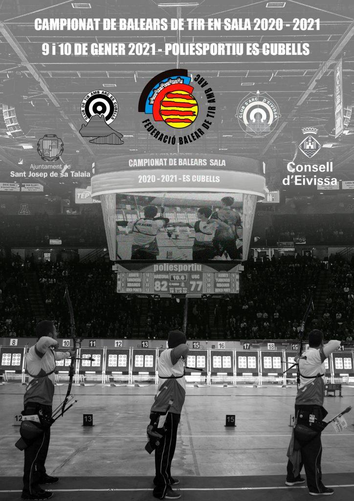 Campionat de balears de tir en sala 2020 - 2021 (Arc recorbat i compost) @ Poliesportiu Es Cubells | Illes Balears | España