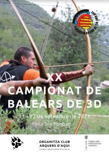 Campionat de Balears de 3D 2020 - 2021 @ Finca Son Burguet   Puigpuñent   Islas Baleares   España